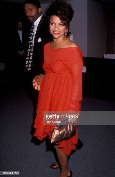 Actress Debbie Allen and husband Norman Nixon attending the party for 100th Episode of A Different World on October 14 1991 at the Armand Hammer...
