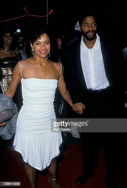 Actress Debbie Allen and husband Norman Nixon attending the premiere of 'Coming To America' on June 26 1988 at Mann Chinese Theater in Hollywood...