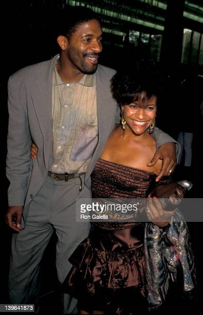 Actress Debbie Allen and husband Norman Nixon attending the premiere of Do The Right Thing on June 25 1989 at the Director's Guild Theater in...