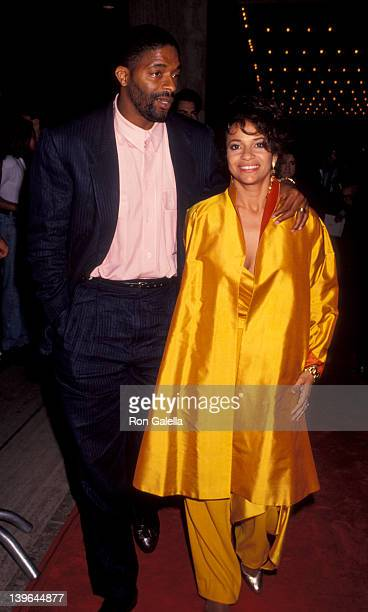Actress Debbie Allen and husband Norman Nixon attending the premiere of Terminator 2 on July 1 1991 at the Cineplex Odeon Cinema in Century City...