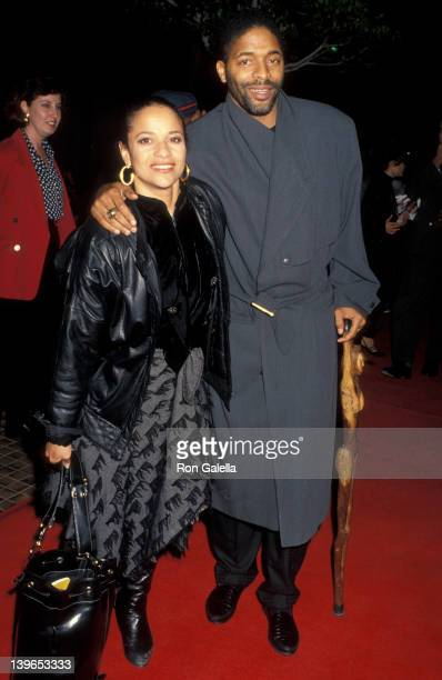 Actress Debbie Allen and husband Norman Nixon attending the premiere of White Men Can't Jump on March 23 1992 at Avco Cinema in Westwood California