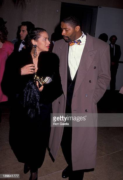 Actress Debbie Allen and husband Norman Nixon attenidng 43rd Annual Director's Guild Of America Awards on March 16 1991 at the Beverly Hilton Hotel...