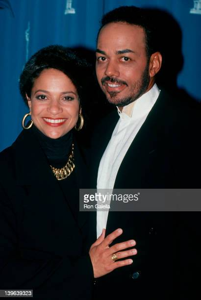 Actress Debbie Allen and James Ingram attending Nominations Luncheon For 66th Annual Academy Awards on March 8 1994 at the Beverly Hilton Hotel in...
