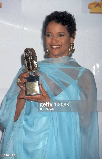 Actress Debbie Allen attending First Annual Soul Train Lady of Soul Awards on August 6 1995 at the Santa Monica Civic Auditorium in Santa Monica...