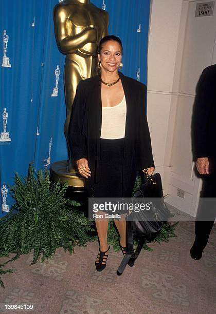 "Actress Debbie Allen attending ""Nominees Luncheon For 64th Annual Academy Awards"" on March 17, 1992 at the Beverly Hilton Hotel in Beverly Hills,..."