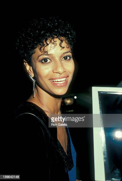 Actress Debbie Allen attending Party For Eddie Murphy on August 24 1983 at the Hard Rock Cafe in Los Angeles California
