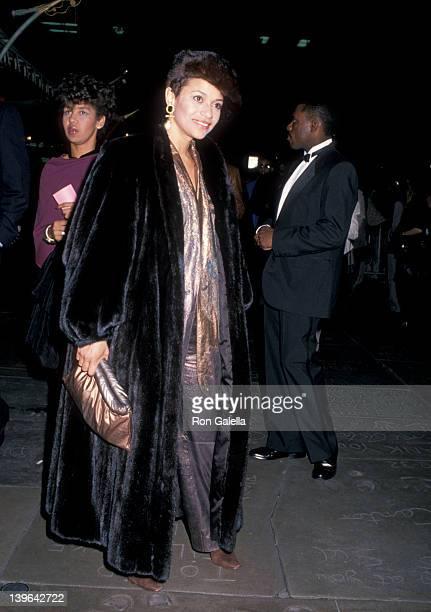 Actress Debbie Allen attending the premiere of 'I'm Gonna Git You Sucka' on February 14 1989 at Mann Chinese Theater in Hollywood California