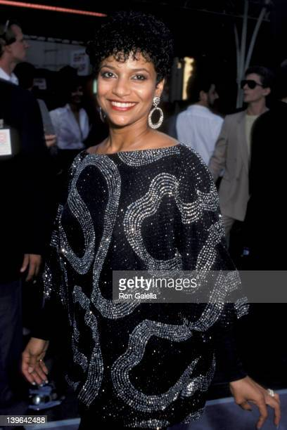 Actress Debbie Allen attending the premiere of Purple Rain on July 26 1984 at Mann Chinese Theater in Hollywood California