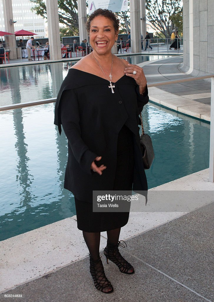 Actress Debbie Allen attends the opening night of 'Ma Rainey's Black Bottom' at Mark Taper Forum on September 11, 2016 in Los Angeles, California.