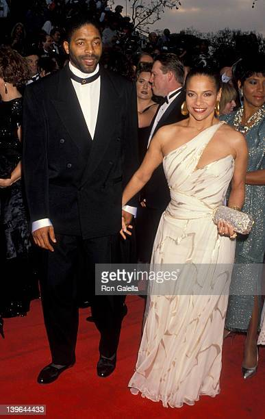 Actress Debbie Allen husband Norman Nixon and Phylicia Rahad attending 65th Annual Academy Awards on March 29 1993 at the Dorothy Chander Pavilion in...