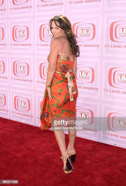 Actress Debbie Dunning arrives at the 7th Annual TV Land Awards held at Gibson Amphitheatre on April 19 2009 in Universal City California