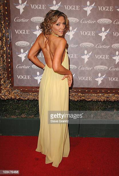 Actress Debbie Matenopoulos arrives to The Art of Elysium 10th Anniversary Gala at Vibiana on January 12, 2008 in Los Angeles, California.