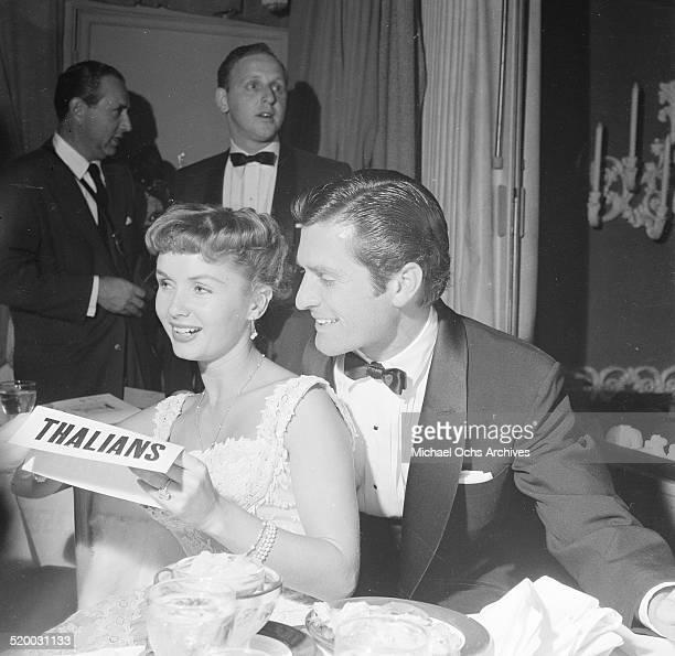 Actress Debbie Reynolds attends a Thalians party in Los AngelesCA