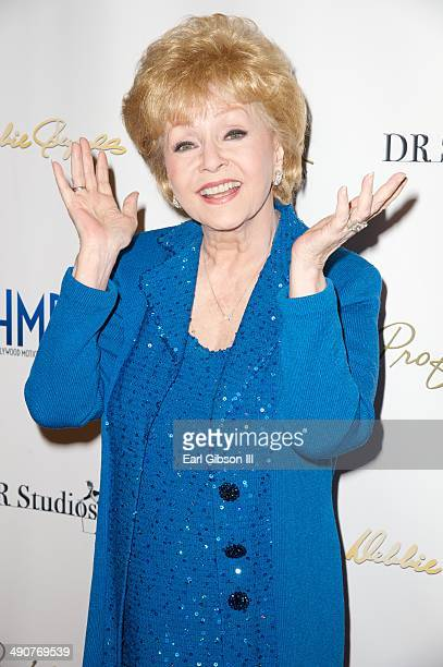 Actress Debbie Reynolds host an allstar gala preview reception for her final Hollywood Motion Picture Collection Auction at Debbie Reynolds's Dance...