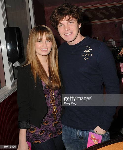 Actress Debby Ryan and actor Jake Ryan attend Pink's Grand Opening at Knott's Berry Farm on February 28 2010 in Buena Park California