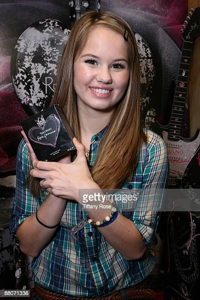 Actress Debby Ryan and Vera Wang Rock Princess at Melanie Segal's MTV Movie Awards House Presented by Rev 3 - Day 2 on May 29, 2009 in Los Angeles,...