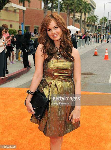Actress Debby Ryan arrives at Nickelodeon's 24th Annual Kids' Choice Awards at Galen Center on April 2 2011 in Los Angeles California
