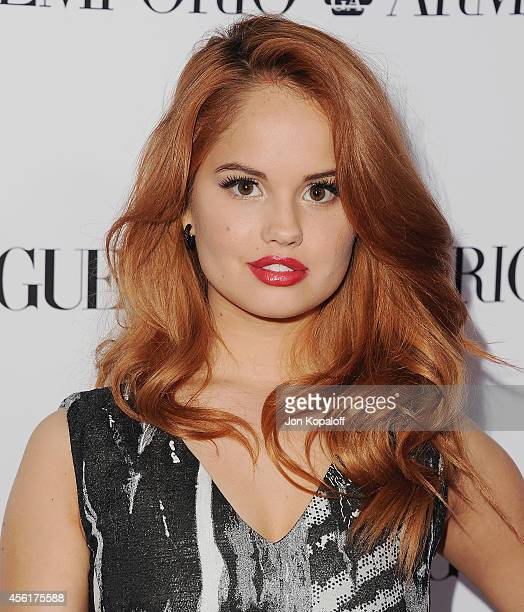 Actress Debby Ryan arrives at the Teen Vogue Young Hollywood Party on September 26 2014 in Los Angeles California