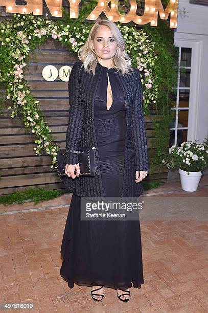 Actress Debby Ryan attends Barneys New York Jennifer Aniston and Tobey Maguire host a private dinner to celebrate The Barneys New York XO Jennifer...