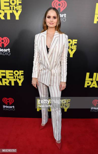 Actress Debby Ryan attends Life Of The Party World Premiere at AMC Tiger 13 on April 30 2018 in Opelika Alabama