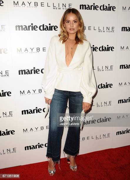 Actress Debby Ryan attends Marie Claire's Fresh Faces event at Doheny Room on April 21 2017 in West Hollywood California