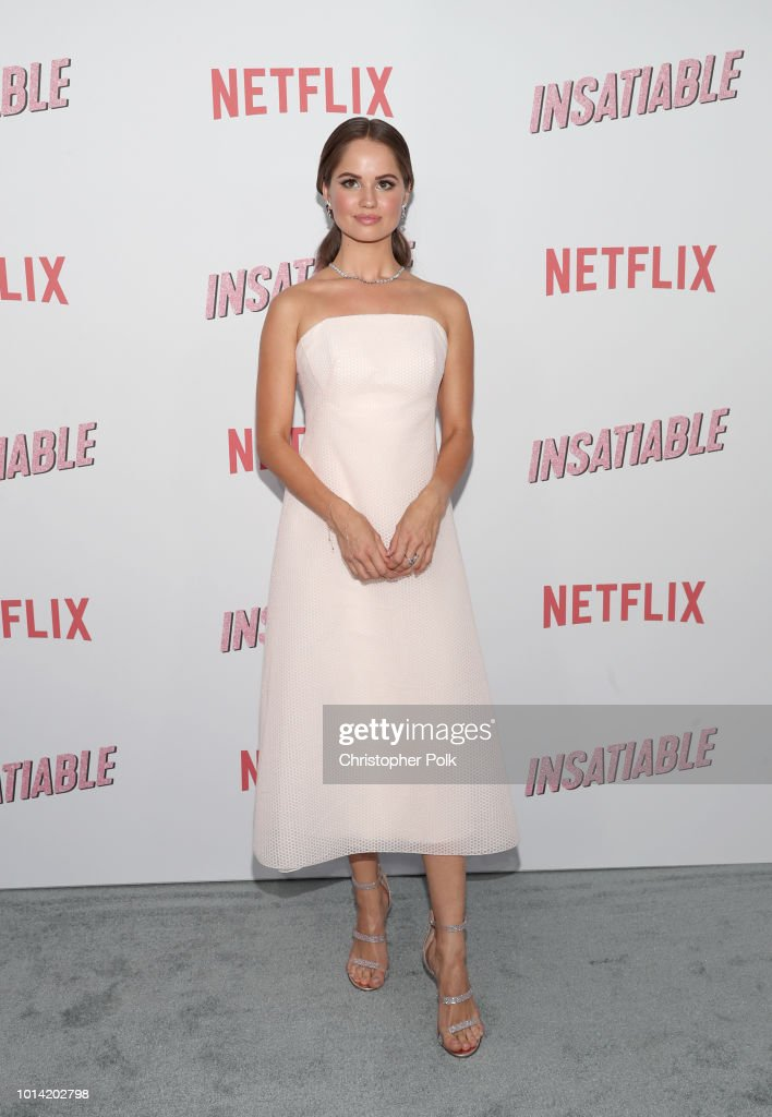 Actress Debby Ryan attends Netflix's 'Insatiable' season 1 premiere at ArcLight Hollywood on August 9, 2018 in Hollywood, California.