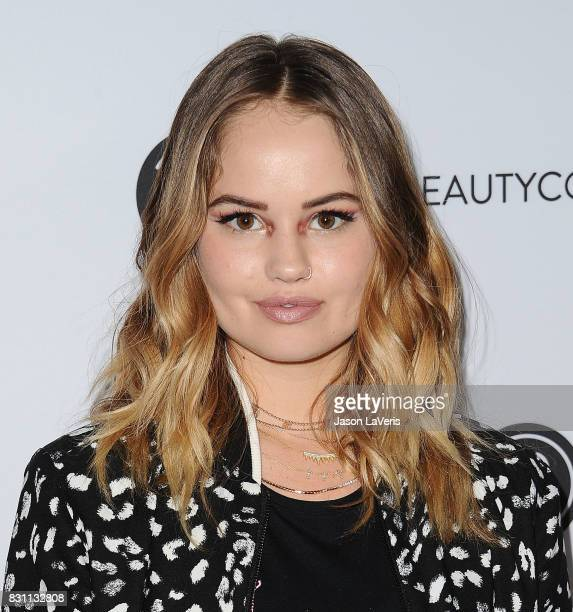 Actress Debby Ryan attends the 5th annual Beautycon festival at Los Angeles Convention Center on August 13 2017 in Los Angeles California