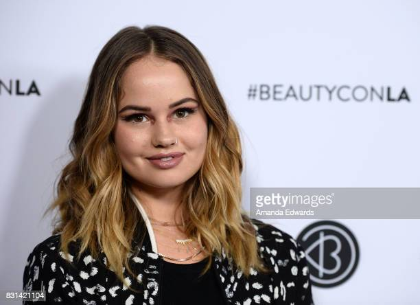 Actress Debby Ryan attends the 5th Annual Beautycon Festival Los Angeles at the Los Angeles Convention Center on August 13 2017 in Los Angeles...