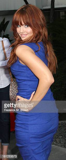 Actress Debby Ryan attends the Premiere Of CBS Films' The Words at the ArcLight Cinemas on September 4 2012 in Hollywood California
