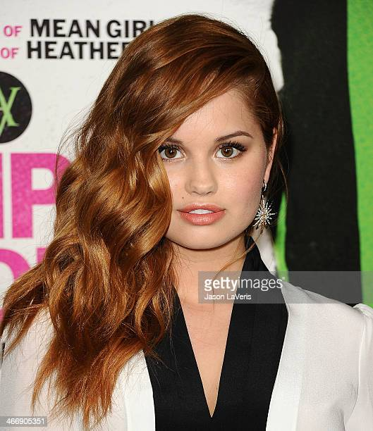 Actress Debby Ryan attends the premiere of 'Vampire Academy' at Regal Cinemas LA Live on February 4 2014 in Los Angeles California