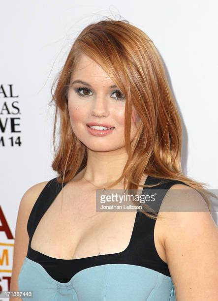 Actress Debby Ryan attends 'The Way Way Back' premiere sponsored by DIRECTV during the 2013 Los Angeles Film Festival at Regal Cinemas LA Live on...