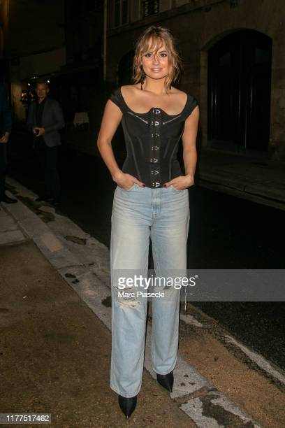Actress Debby Ryan is seen on September 27 2019 in Paris France