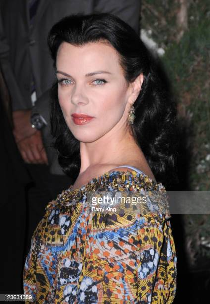 Actress Debi Mazar arrives at Decades Denim Launch Party at a private residence on November 2 2010 in Beverly Hills California