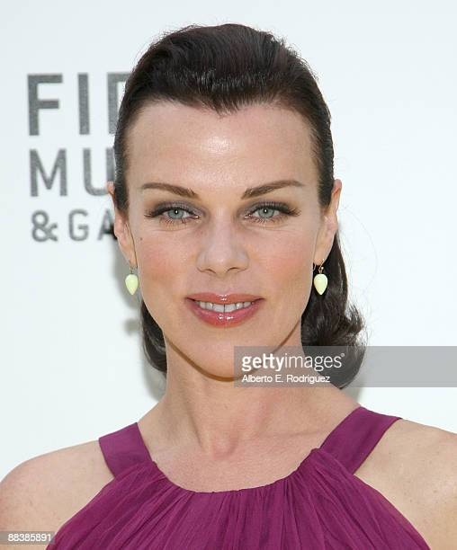 Actress Debi Mazar arrives at Warner Bros and FIDM's 70th anniversary screening of The Wizard of OZ on June 9 2009 in Los Angeles California