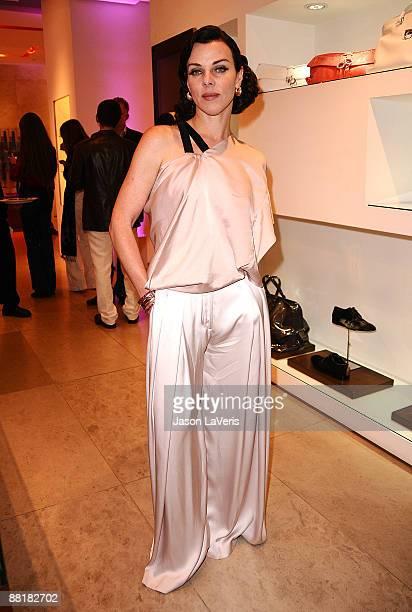 Actress Debi Mazar attends Ferragamo's Benefit for the L'Aquila Earthquake Victims at Ferragamo Boutique on June 2, 2009 in Beverly Hills, California.