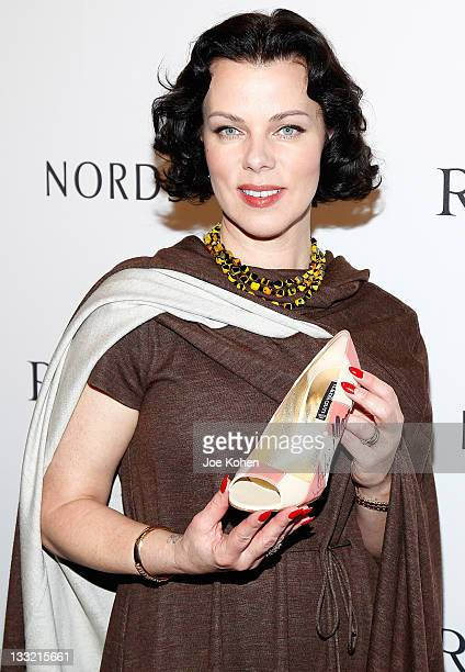 Actress Debi Mazar attends Ron White shoe collection launch and charity event at Nordstrom at the Grove on November 17, 2011 in Los Angeles,...