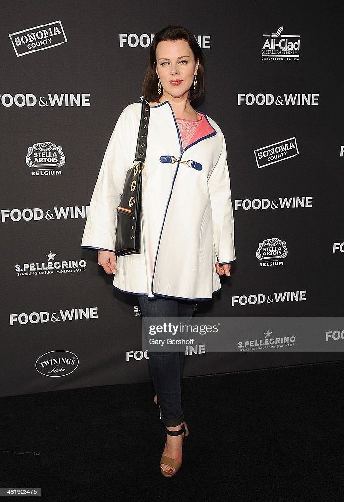 Actress Debi Mazar attends the 2014 FOOD & WINE Best New Chefs Party at Powerhouse at The American Museum of Natural History on April 1, 2014 in New York City.