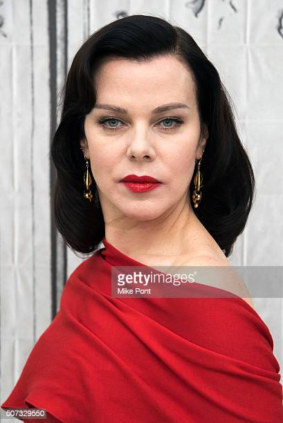 Actress Debi Mazar attends the AOL Build series to discuss the TV Land show 'Younger' at AOL Studios In New York on January 28 2016 in New York City