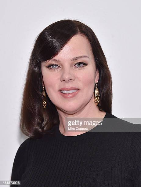 Actress Debi Mazar attends the AOL's BUILD Speaker Series at AOL Studios In New York on January 15 2015 in New York City