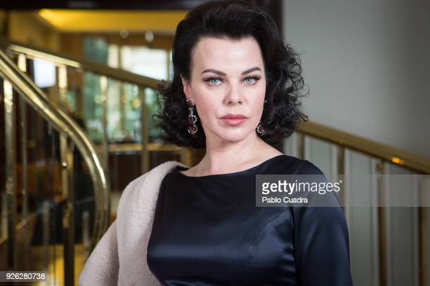 Actress Debi Mazar attends the 'Arde Madrid' photocall at Intercontinental Hotel on March 2, 2018 in Madrid, Spain.