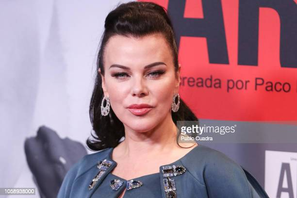 Actress Debi Mazar attends the 'Arde Madrid' premiere at Callao Cinema on November 7, 2018 in Madrid, Spain.
