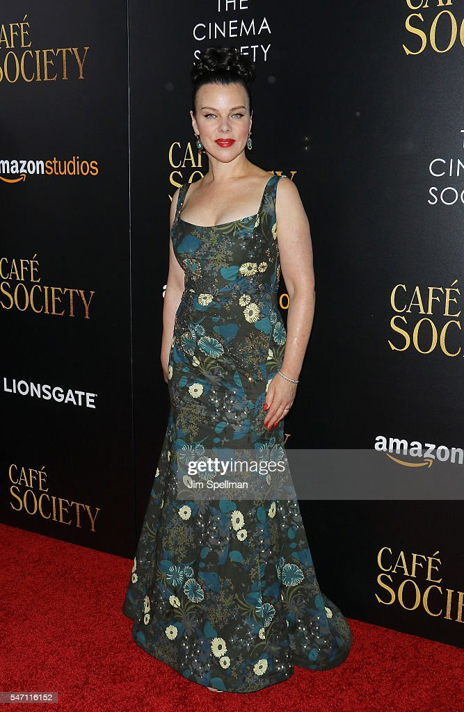 Actress Debi Mazar attends the New York premiere of 'Cafe Society' hosted by Amazon & Lionsgate with The Cinema Society at Paris Theatre on July 13, 2016 in New York City.