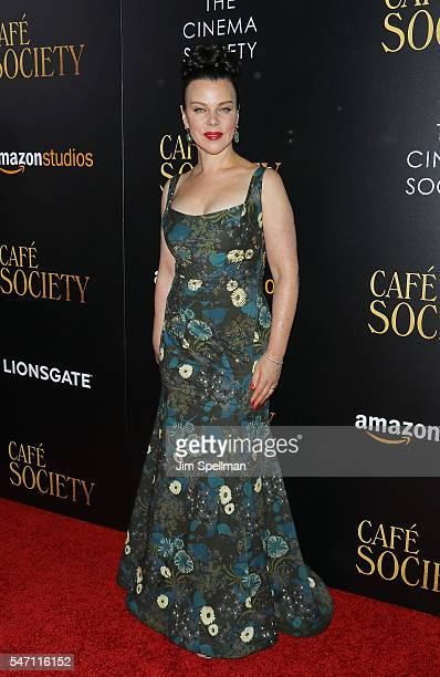 Actress Debi Mazar attends the New York premiere of 'Cafe Society' hosted by Amazon Lionsgate with The Cinema Society at Paris Theatre on July 13...