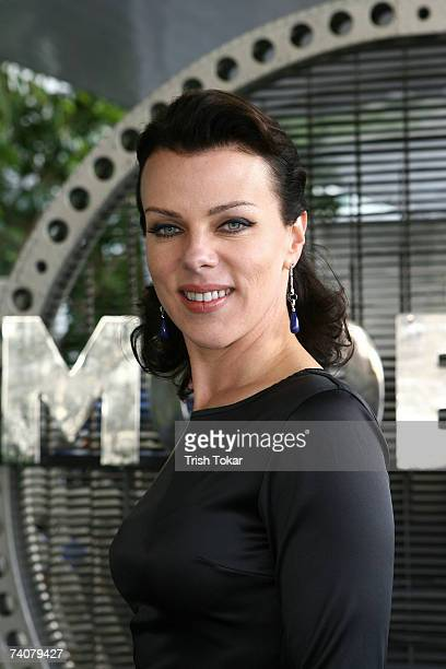Actress Debi Mazar attends the opening of the 2007 Los Angeles Modernism Show Celebrating Design of the 20th Century at the Santa Monica Civic...