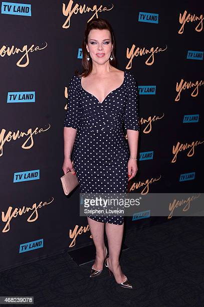 Actress Debi Mazar attends the premiere of TV Land's Younger at Landmark Sunshine Cinema on March 31 2015 in New York City