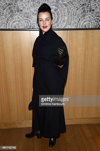 Actress Debi Mazar attends Through Her Lens The Tribeca Chanel Women's Filmmaker closing night at The Smyth Hotel on October 28 2015 in New York City