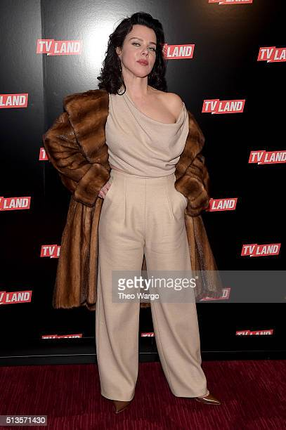 Actress Debi Mazar attends Viacom Kids And Family Group Upfront Event at Frederick P Rose Hall Jazz at Lincoln Center on March 3 2016 in New York City