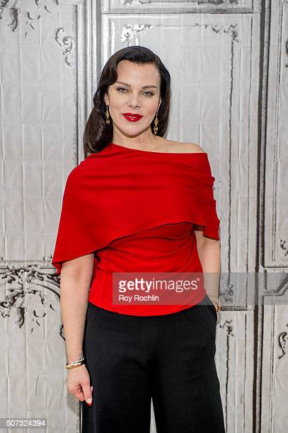 Actress Debi Mazar discusses the new season of her hit show Younger at AOL Studios In New York on January 28, 2016 in New York City.