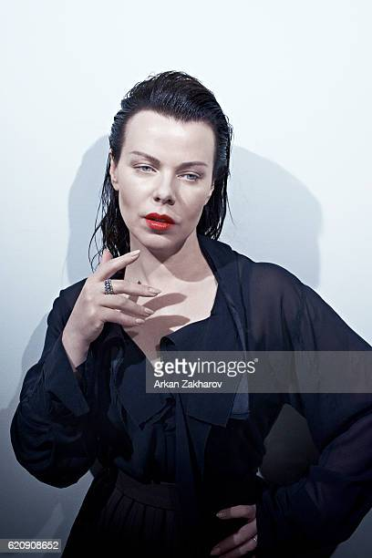 Actress Debi Mazar is photographed for Interview Magazine on May 24 2015 in New York City