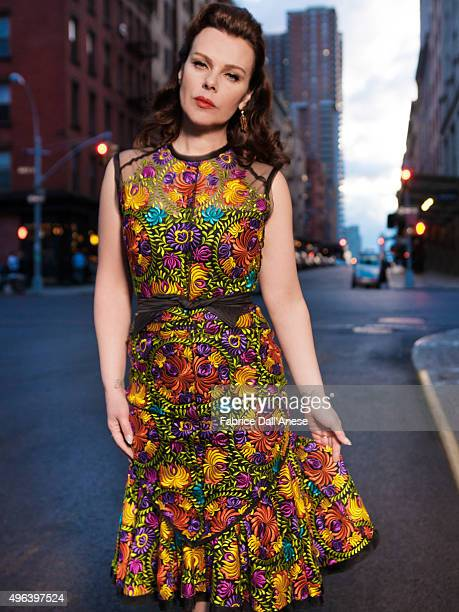 Actress Debi Mazar is photographed for Vanity Faircom on April 15 2015 in New York